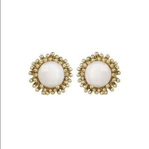 Kendra Scott Carly Mother of Pearl Earrings